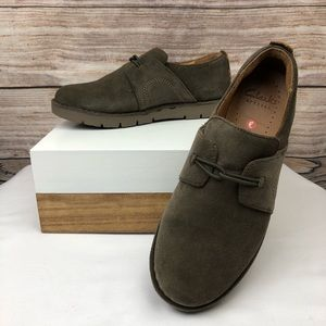 Clarks Unstructured Suede Shoes